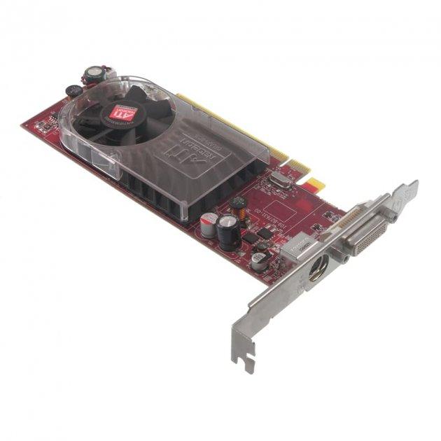 Відеокарта ATI Grafikkarte Radeon HD 2400XT 256MB PCI-E x16 LFH (462477-001) Refurbished - зображення 1