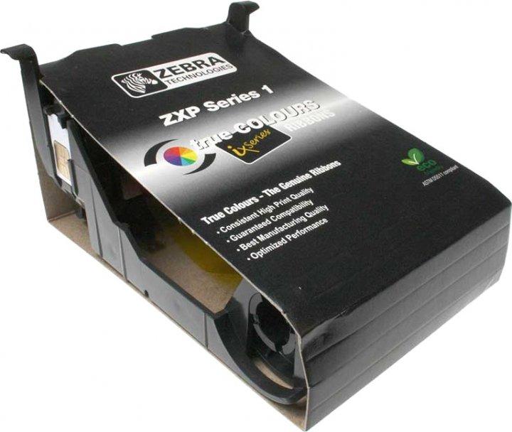 Риббон-картридж Zebra YMCKO на 100 отпечатков для принтера ZXP1 Полноцветный (800011-140)