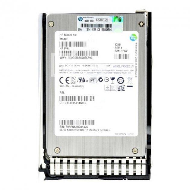 """SSD HP HP HDD 200GB 6G 2.5"""" MLC EM SSD (632502-B21) Refurbished - зображення 1"""