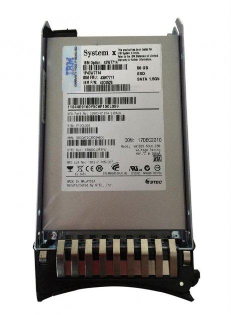 SSD IBM Lenovo 50GB SSD (43W7717) Refurbished - зображення 1