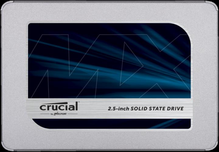 """SSD Crucial SSD Crucial MX500 6,4 cm(2,5"""") 500GB SATA 6Gb/s (CT500MX500SSD1) Нове - зображення 1"""