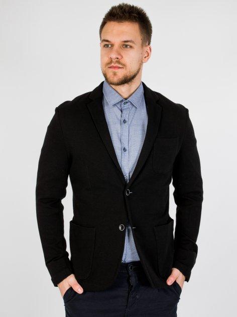 Приталенный пиджак Jack & Jones 216108013 M (83157M) Черный - изображение 1