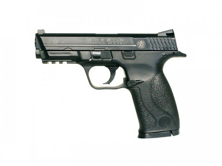Пистолет пневматический SAS MP-40 черный - изображение 1