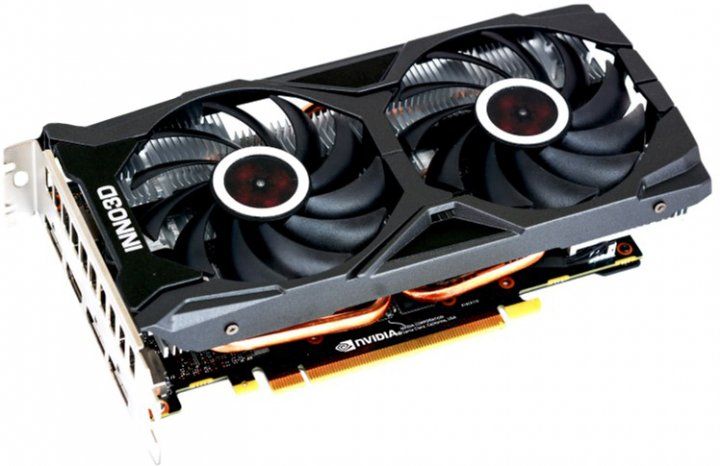 INNO3D PCI-Ex GeForce RTX 2060 Super Twin X2 OC 8GB GDDR6 (256bit) (1665/14000) (HDMI, 3 x DisplayPort) (N206S2-08D6X-1710VA15L) - зображення 1