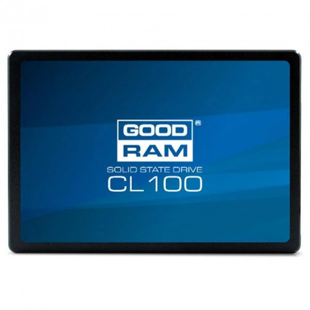 "Накопитель SSD 480GB GOODRAM CL100 2.5"" SATAIII TLC (SSDPR-CL100-480) - изображение 1"