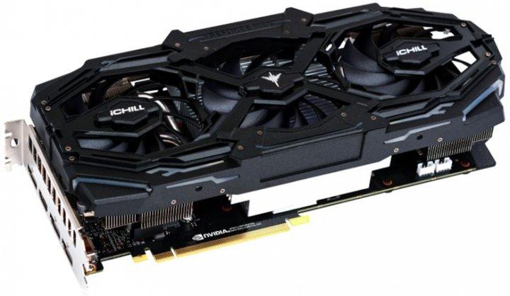 INNO3D PCI-Ex GeForce RTX 2060 Super iChill X3 Ultra 8GB GDDR6 (256bit) (1695/14000) (HDMI, 3 x DisplayPort) (C206S3-08D6X-1731VA17) - зображення 1