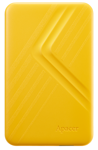 "Жесткий диск Apacer AC236 2TB 5400rpm 8MB AP2TBAC236Y-1 2.5"" USB 3.1 External Yellow - изображение 1"
