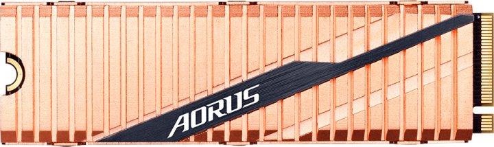 Gigabyte Aorus NVMe Gen4 SSD 500GB M.2 2280 NVMe PCIe 4.0 x4 3D NAND TLC (GP-ASM2NE6500GTTD) - зображення 1