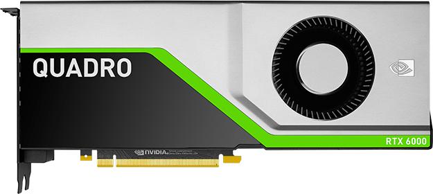 PNY PCI-Ex NVIDIA Quadro RTX6000 24GB GDDR6 (4 x DisplayPort, 1 x VirtualLink) (XVCQRTX6000-PB) - изображение 1