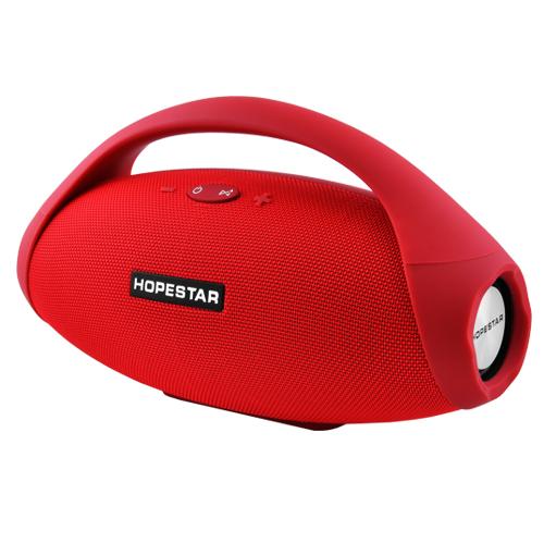 Портативная колонка HOPESTAR H31 BIG, Bluetooth, c функцией speakerphone, радио, Красный - изображение 1