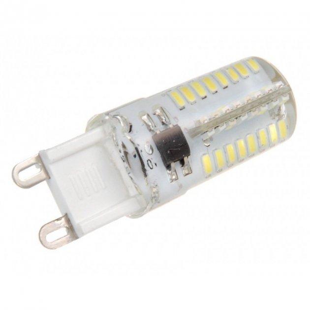 "Лампа светодиодная G9 8W 750LM 4500K 230V ""LEMANSO"" LM772 - изображение 1"