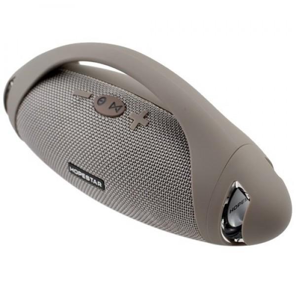Портативная влагозащищенная Bluetooth колонка HopeStar H37 Gray - изображение 1