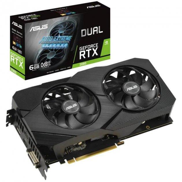 Asus GeForce RTX 2060 6GB GDDR6 Dual Evo (DUAL-RTX2060-6G-EVO) - зображення 1