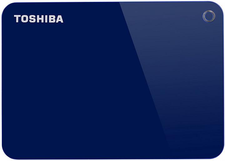 """Жорсткий диск Toshiba Canvio Advance 2TB HDTC920EL3AA 2.5"""" USB 3.0 External Blue - зображення 1"""