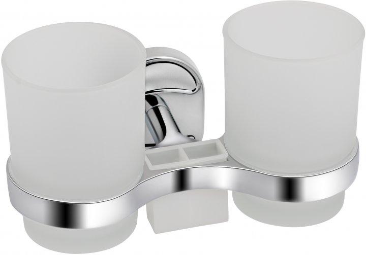 Стакан для ванної LIDZ (CRG)-114.04.02 подвійний - зображення 1