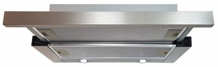 Вытяжка Luxor Fantom 2m V 60 SS + гофротруба в комплекте нержавеющая сталь - изображение 1