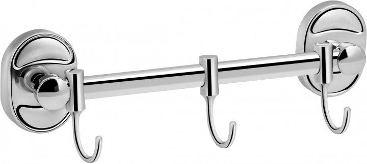 Планка LIDZ (CRM)-114.08.03 с 3-мя крючками - изображение 1