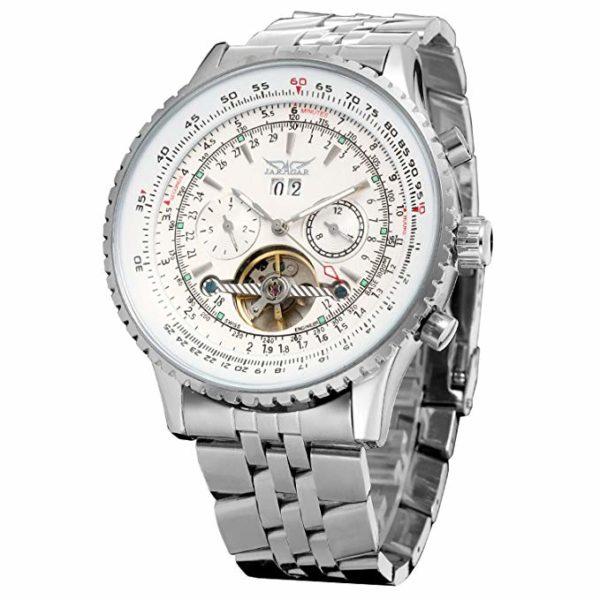Мужские часы Jaragar Roix White (JAG034M4S1) - изображение 1