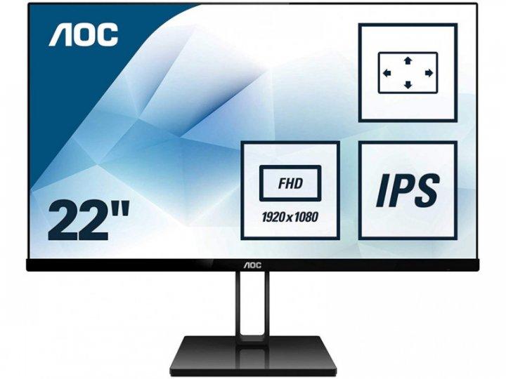 Монітор AOC 22V2Q - зображення 1