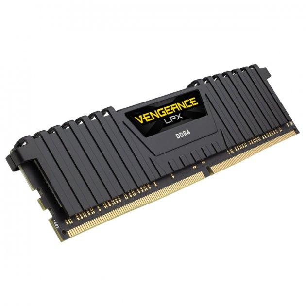 Модуль пам'яті DDR4 2х8GB/4133 Corsair Vengeance LPX Black (CMK16GX4M2K4133C19) - зображення 1