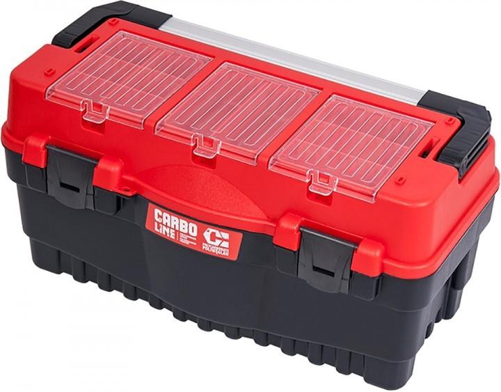 """Ящик для инструмента Qbrick System System S700 Carbo Red 25.5"""" мм (SKRS700FCPZCZEPG001) - изображение 1"""