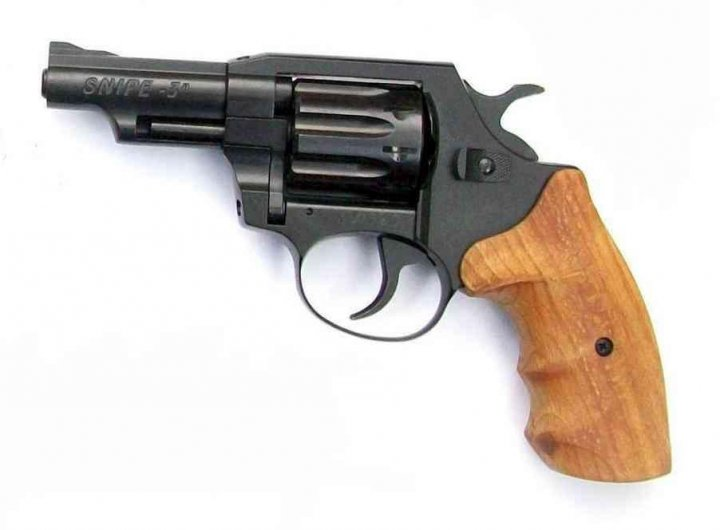 Револьвер под патрон флобера SNIPE-3 (бук) - зображення 1