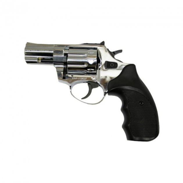 Револьвер под патрон флобера Ekol Major Berg 2,5 (глянцевый хром) - зображення 1