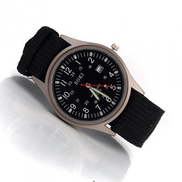 """Часы мужские кварцевые """"Soki"""" 2900000051744 - изображение 1"""