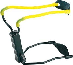 Рогатка с упором Man Kung black/yellow (MK-T11) - изображение 1