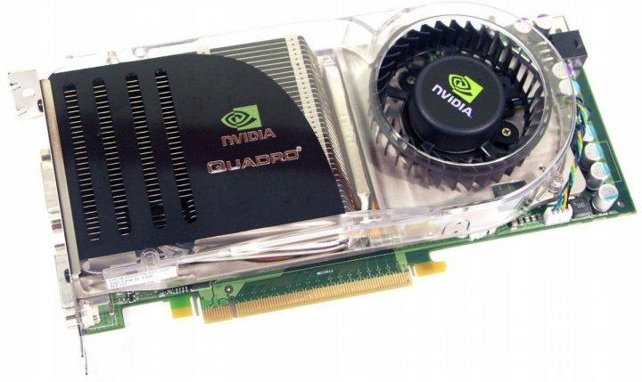 Видеокарта NVIDIA PCI-Ex QUADRO FX 4600 768 MB DDR3 (384 Bit) (DVI) Б/У - изображение 1