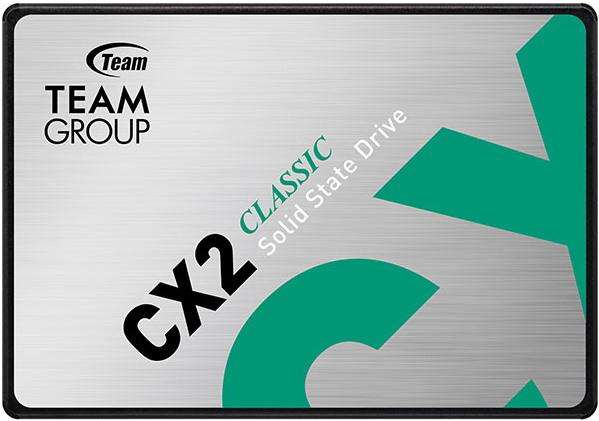 """Team CX2 512GB 2.5"""" SATAIII 3D TLC (T253X6512G0C101) - зображення 1"""