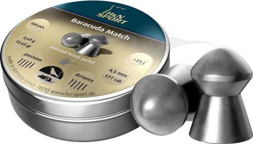Пули H&N Baracuda Match 4,5 - изображение 1