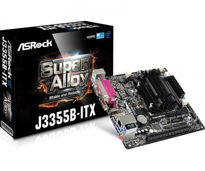 Материнська плата ASRock J3355B-ITX Mini ITX - зображення 1