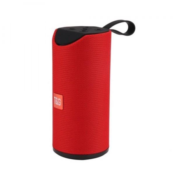 Портативная Bluetooth колонка T&G TG-113 Красная (46334) - изображение 1