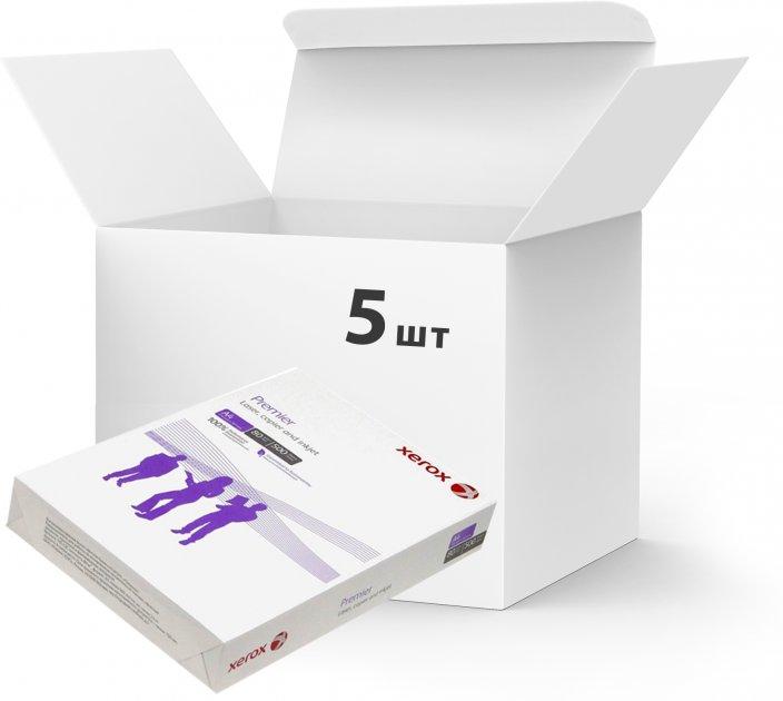 Набор бумаги офисной Xerox Premier A4 80 г/м2 класс А белой 500 листов х 5 пачек (50175349172064)
