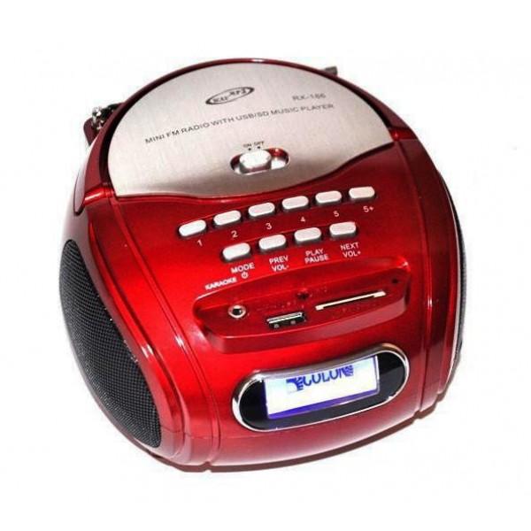 Бумбокс-колонка MP3 USB радио Golon RX 186 (DM00119) - изображение 1