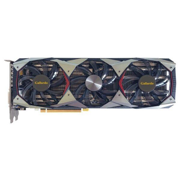 Manli GeForce GTX 1080 Ti Gallardo with RGB Lights (M-NGTX1080TIG/5RIHDPPP-F372G) - изображение 1