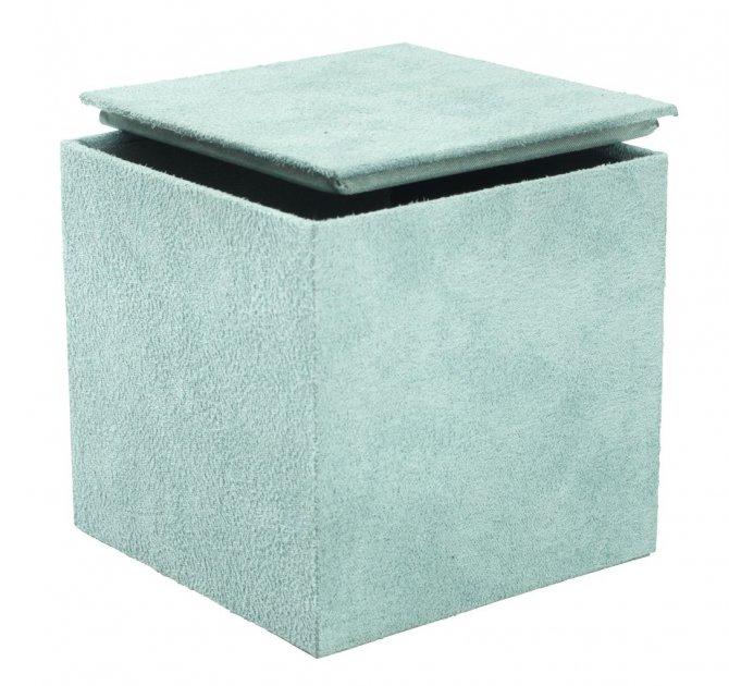 Коробка Antiksa 10х10х10см зелений (JY4963800) - зображення 1
