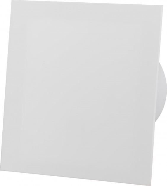 Вытяжной вентилятор AirRoxy dRim 100 HS BB Белый матовый, с датчиком влажности и таймером. - изображение 1