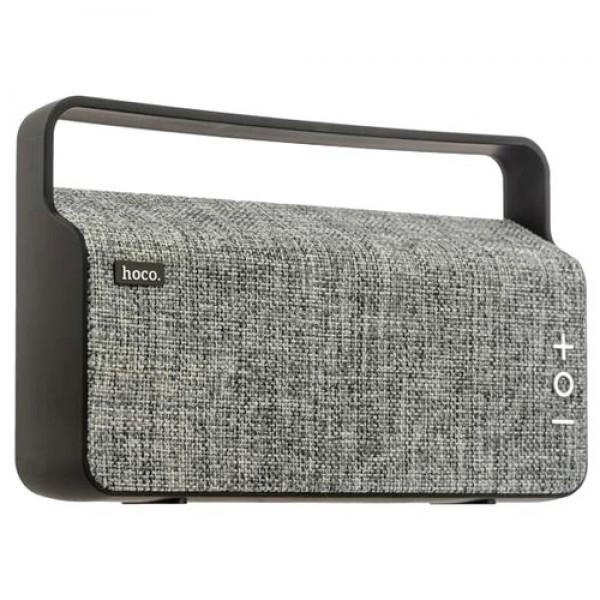 Колонка Портативная акустическая Hoco BS10 Dibu Deskop Wireless Bass+ Gray (VN00332) - изображение 1