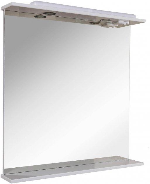 Зеркало AQUA RODOS Ассоль с подсветкой 80 см - изображение 1