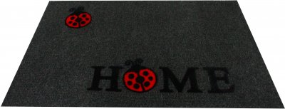 Придверний килимок IzziHome Luna Italyan 40х60 Gri (2200000548924)