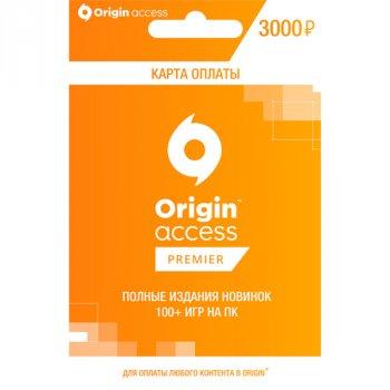 EA Origin Access Premier 3 місяці 3000 RU для ПК (електронний ключ у конверті)