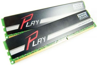 Модуль памяти DDR3 2x8GB/1600 GOODRAM Play Black (GY1600D364L10/16GDC)