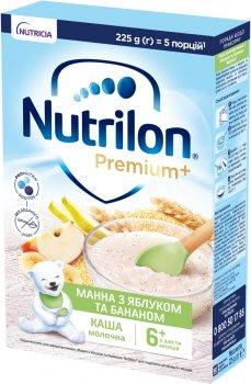 Молочная каша Nutrilon Манная с яблоком и бананом 6+ 225 г (5900852044694)
