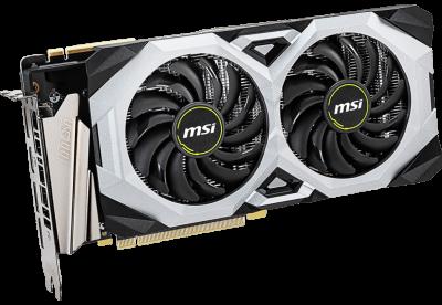 MSI PCI-Ex GeForce RTX 2070 Super Ventus OC 8GB GDDR6 (256bit) (1785/14000) (HDMI, 3 x DisplayPort) (RTX 2070 SUPER VENTUS OC)