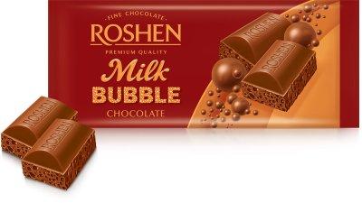 Упаковка шоколада Roshen Молочный пористый 80 г х 20 шт (4823077626234)