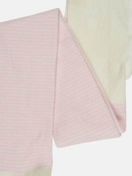 Колготки C&A 64325-2076386 122-128 см Молочно-розовые полоска (cd01452250244)