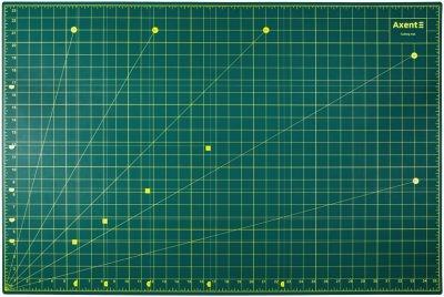 Килимок самовідновний для різання Axent сантиметрова та дюймова шкала А1 (7900-A)