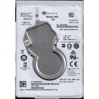 """Жорсткий диск Seagate 2.5"""" 1TB 5400rpm 128MB 7mm (ST1000LM035)"""